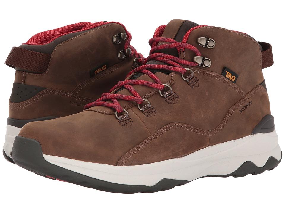 Teva - Arrowood Utility Mid (Brown) Mens Shoes