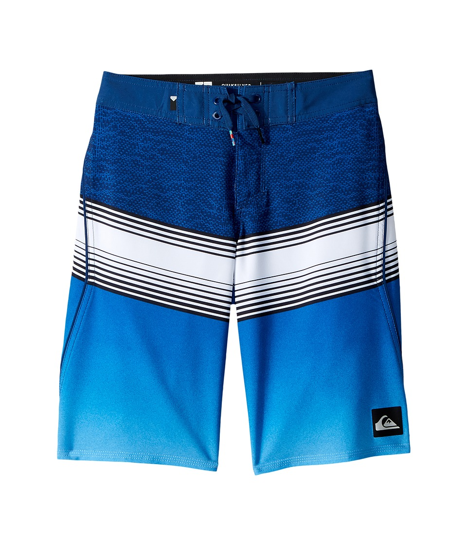 Quiksilver Kids Division Fade Boardshorts (Big Kids) (Estate Blue) Boy