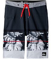 Quiksilver Kids - Slab Prints Vee Boardshorts (Big Kids)