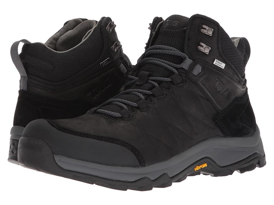 Teva Arrowood Riva Mid WP (Black) Men's Shoes