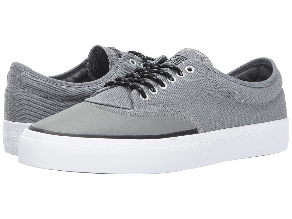 Converse Skate Crimson Ox (Cool Grey/Black/White) Men