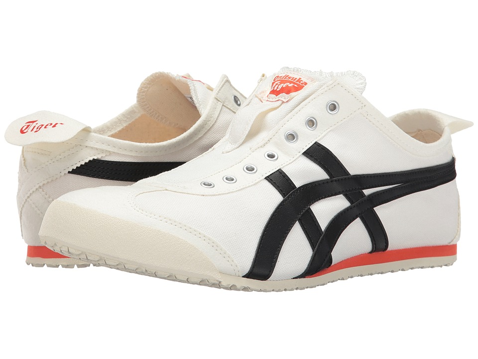 Onitsuka Tiger by Asics Mexico 66 Slip-On (Cream/Black) Shoes