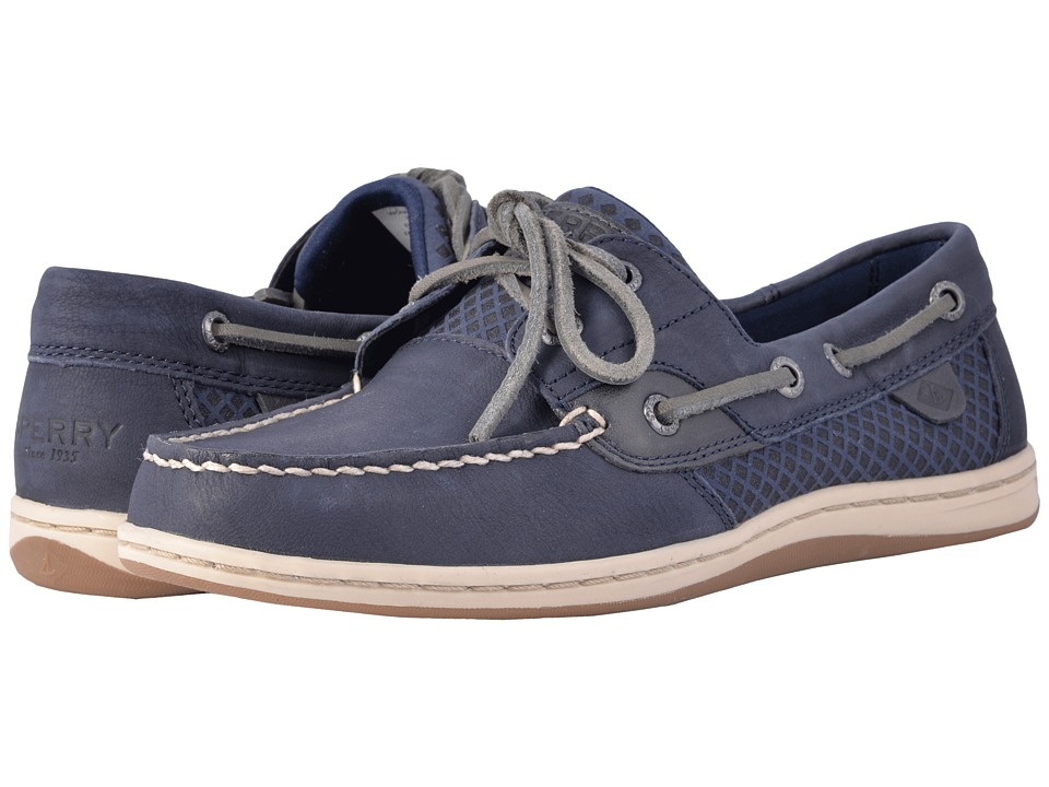 Sperry Koifish Etched (Navy) Women