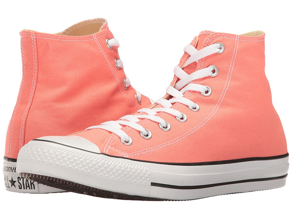 Converse Chuck Taylor(r) All Star(r) Seasonal Color Hi (Sunblush) Lace up casual Shoes