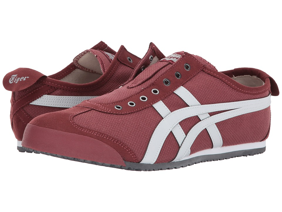 Onitsuka Tiger by Asics Mexico 66 Slip-On (Russet Brown/Glacier Grey) Shoes