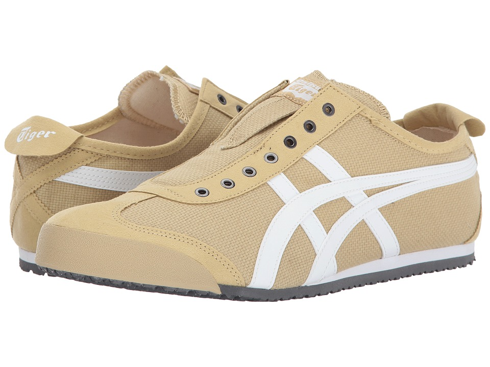 Onitsuka Tiger by Asics Mexico 66 Slip-On (Taos Taupe/White) Shoes