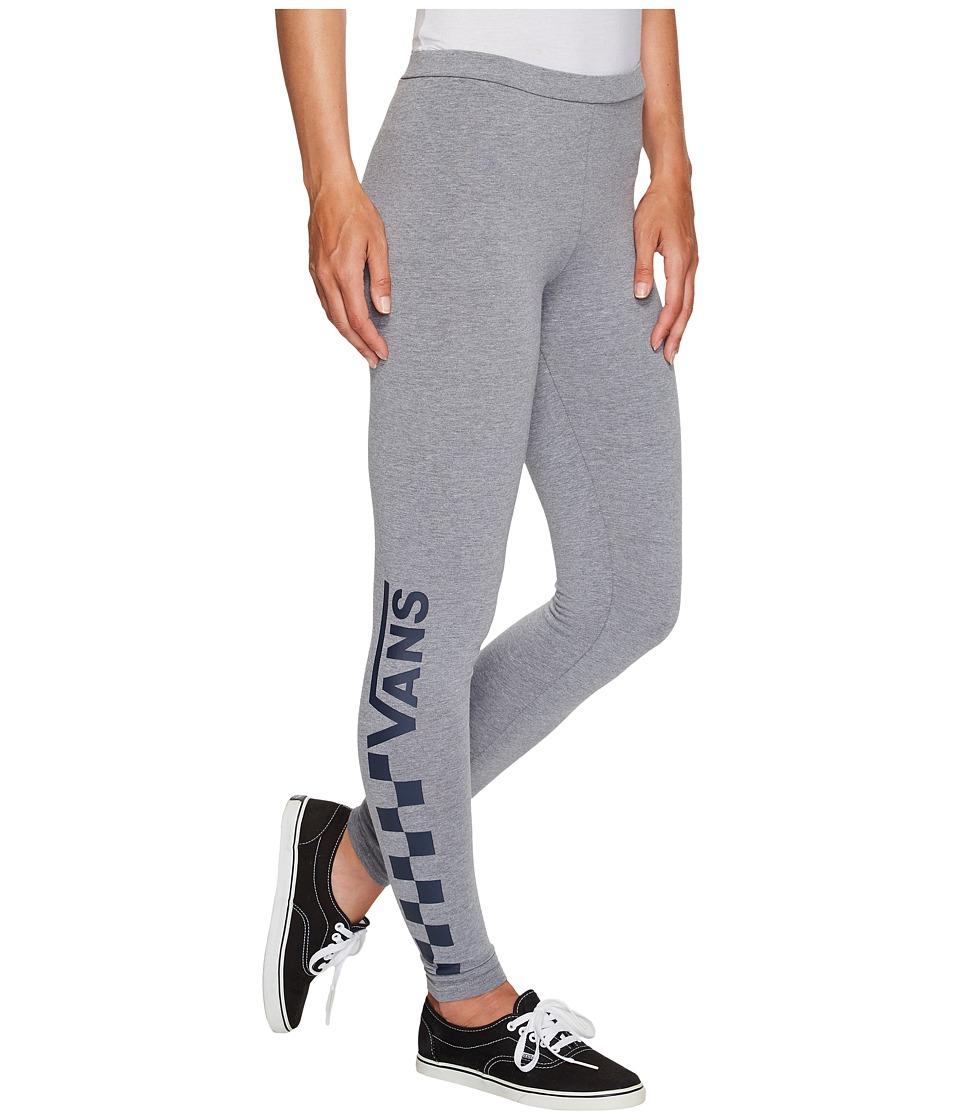 Vans Chalkboard Leggings (Grey Heather/Dress Blues) Women