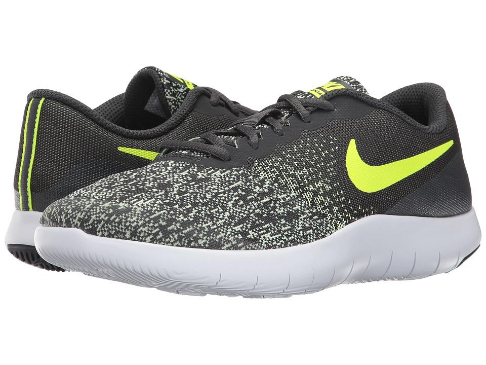 Nike Kids - Flex Contact (Big Kid) (Anthracite/Volt/Barel...