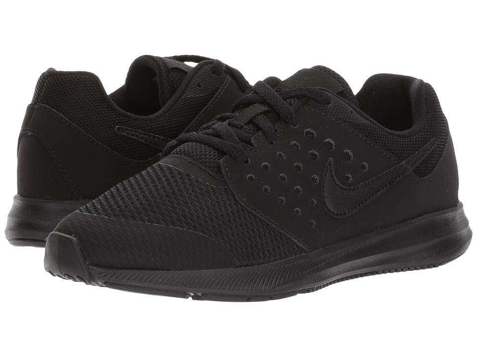 Nike Kids Downshifter 7 (Little Kid) (Black/Black) Boys Shoes