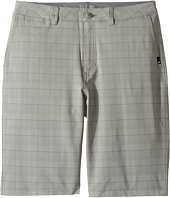 Quiksilver Kids - Union Plaid Amphibian Shorts (Big Kids)