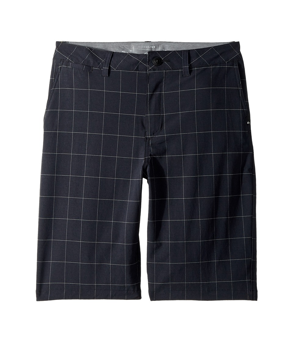 Quiksilver Kids - Union Plaid Amphibian Shorts
