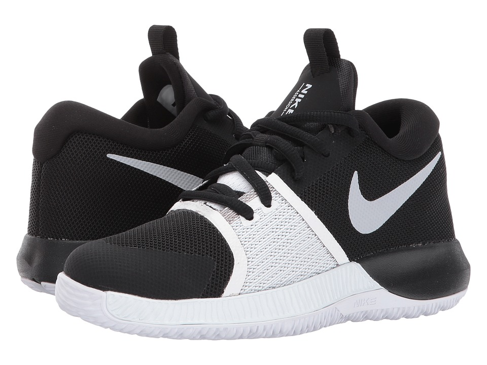Nike Kids Assersion (Little Kid) (Black/White) Boys Shoes