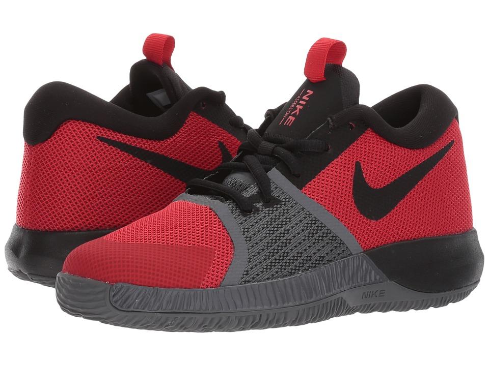 Nike Kids Assersion (Little Kid) (University Red/Black/Dark Grey) Boys Shoes