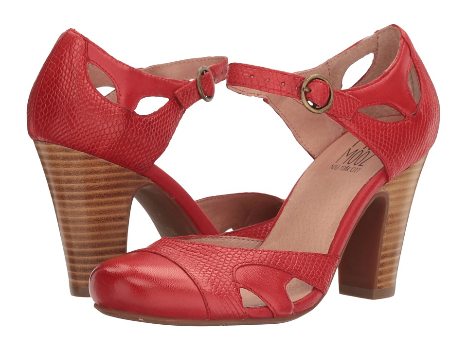 Miz Mooz Joanne (Red) High Heels