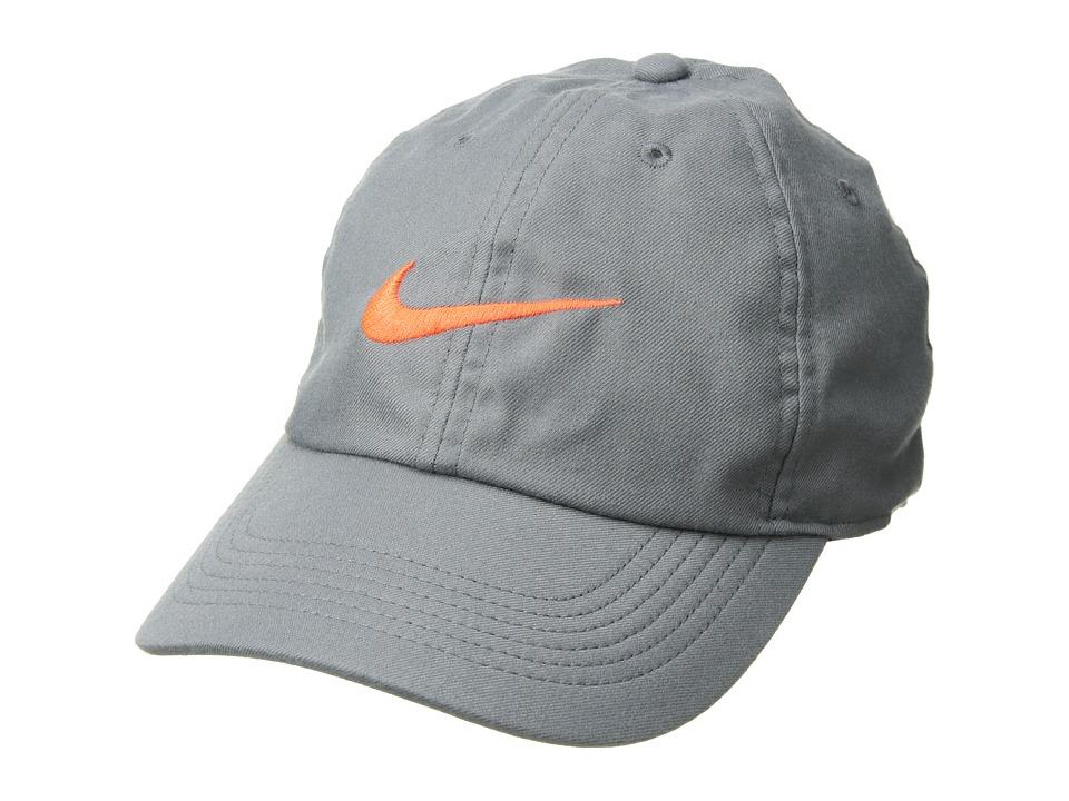 Nike - Train Twill H86 Hat (Cool Grey/Black/Hyper Crimson) Caps