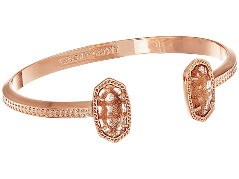 Kendra Scott Elton Bracelet - Rose Gold/Gold Dusted Glass