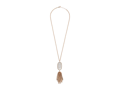 Kendra Scott Rayne Necklace - Rose Gold/Gold Dusted Glass