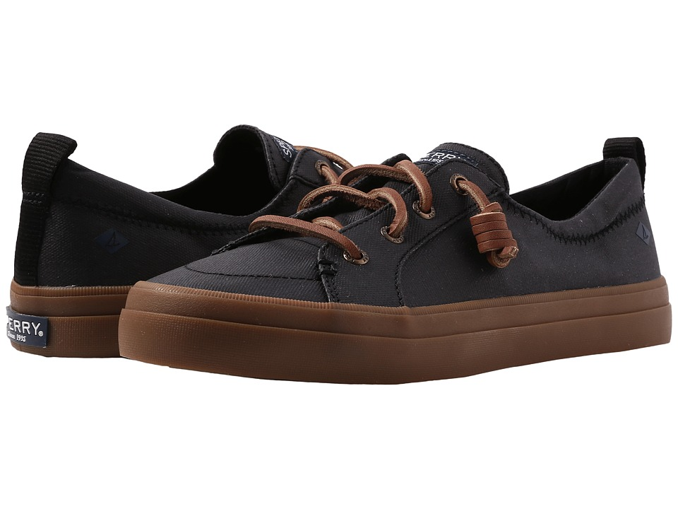 Sperry Crest Vibe Waxed (Black) Women