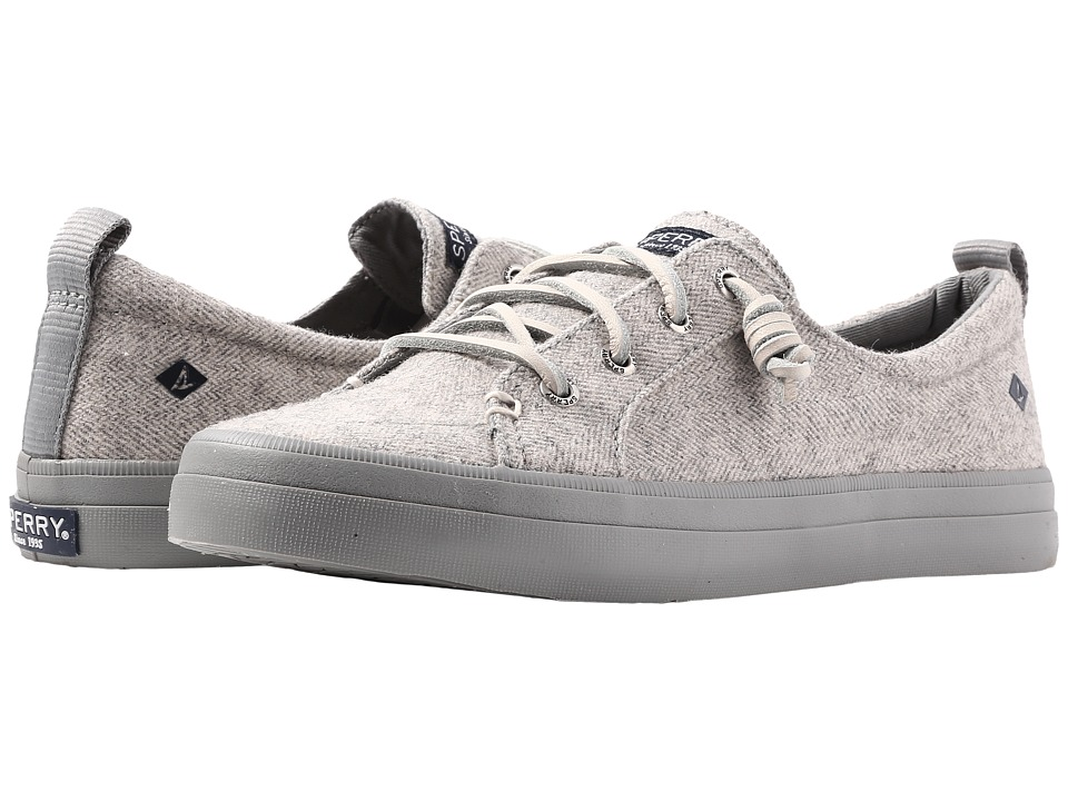 Sperry Crest Vibe Tweed (Light Grey) Women