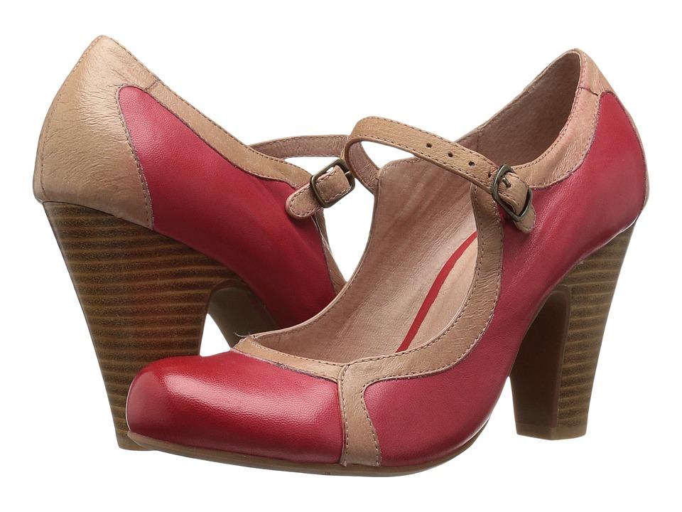 Miz Mooz Nectar (Red) High Heels