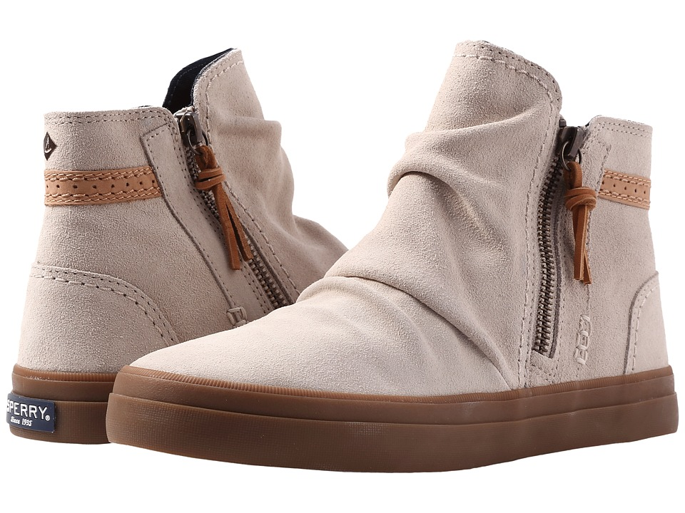 Sperry Crest Zone Waterproof Suede (Oat) Women
