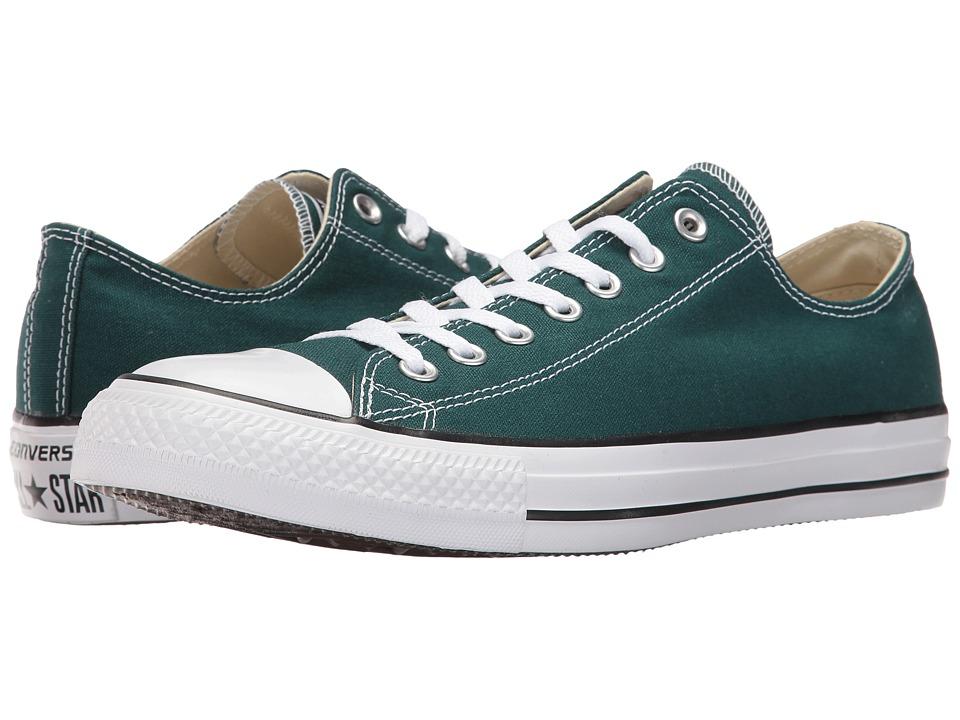 Converse Chuck Taylor All Star Seasonal OX (Dark Atomic Teal) Athletic Shoes