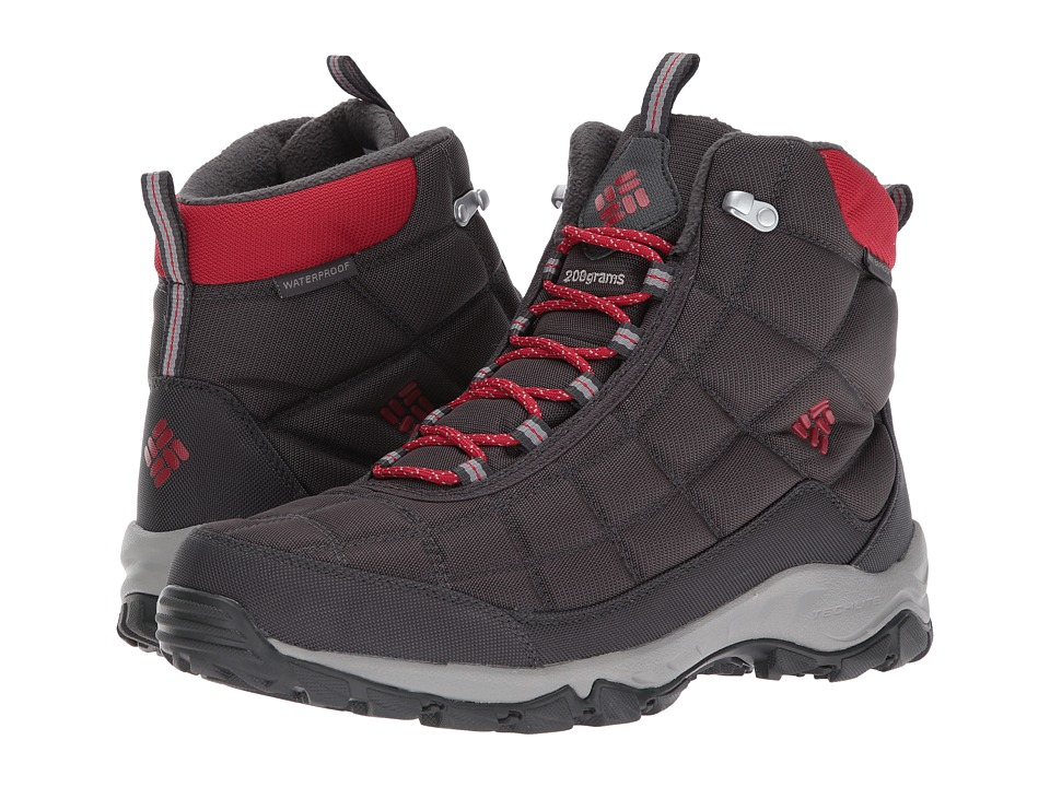 Columbia Firecamp Boot (Dark Grey/Rocket) Men