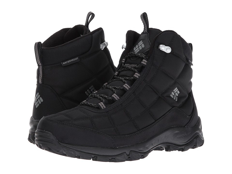 Columbia Firecamp Boot (Black/City Grey) Men