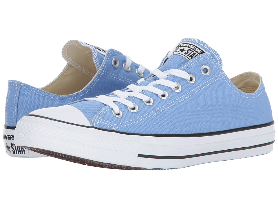 Converse Chuck Taylor All Star Seasonal OX (Pioneer Blue) Athletic Shoes