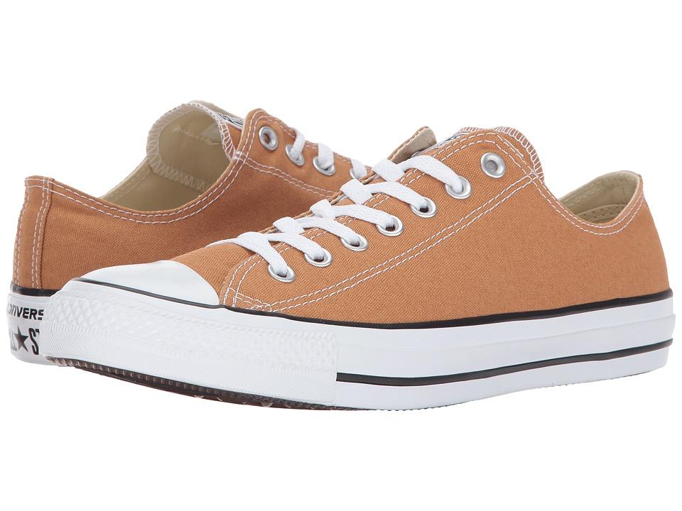 Converse Chuck Taylor All Star Seasonal OX (Raw Sugar) Athletic Shoes