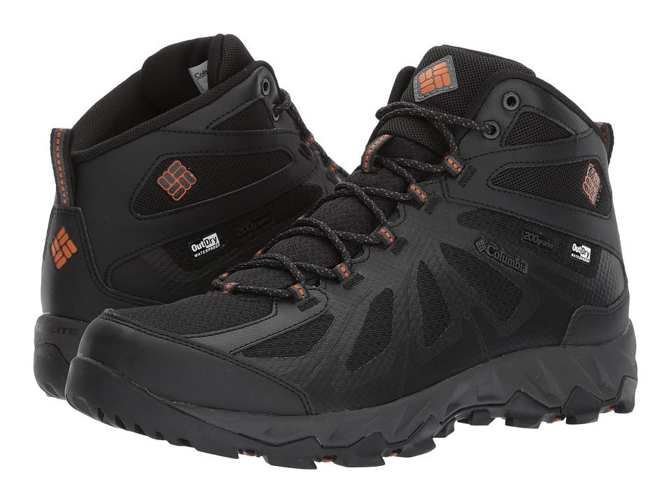 Columbia Peakfreak XCRSN Xcel Mid Outdry 200XT (Black/Bright Copper) Men