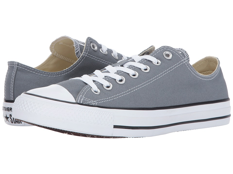 Converse Chuck Taylor All Star Seasonal OX (Cool Grey) Athletic Shoes