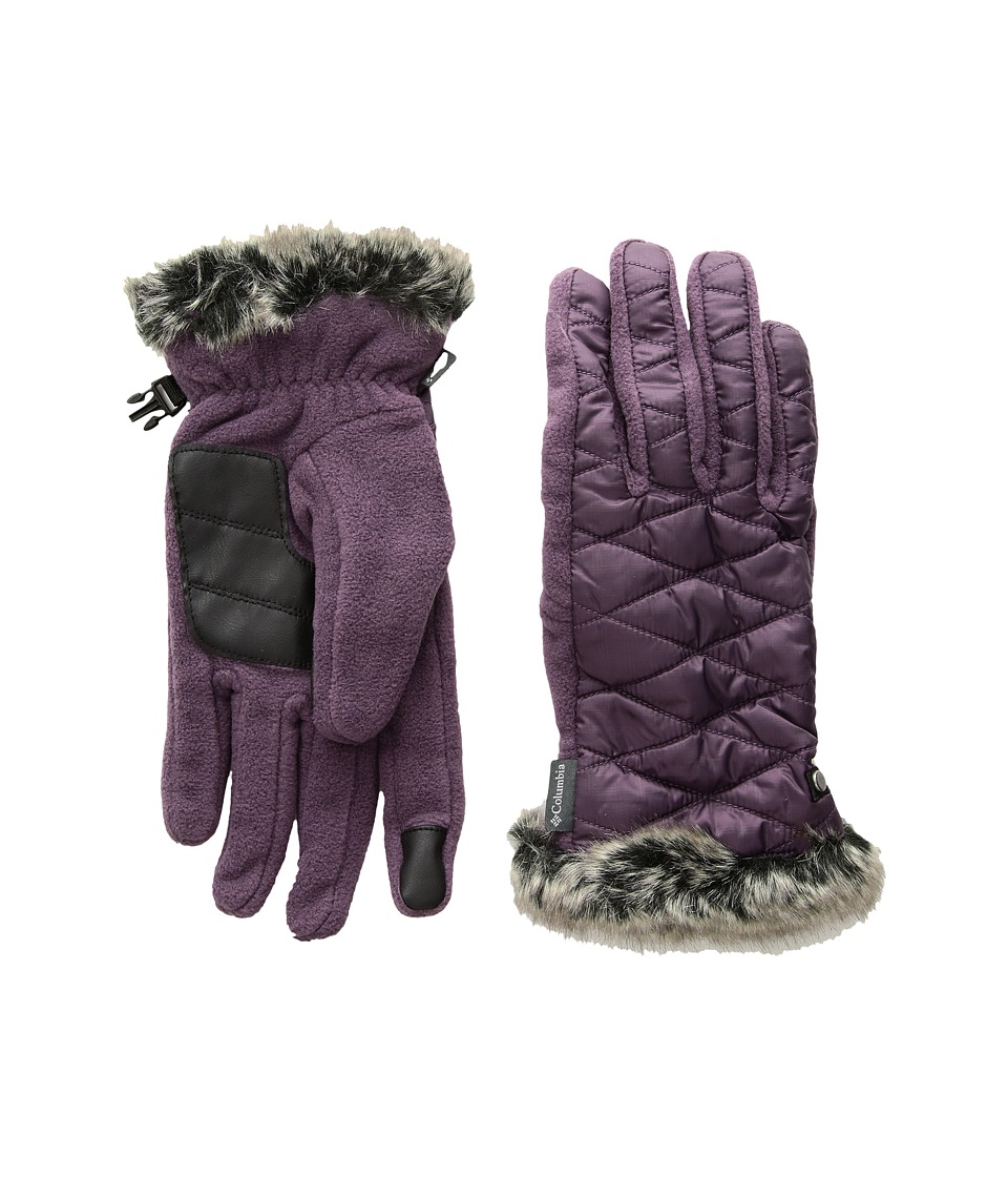 Columbia Heavenly Gloves (Dusty Purple) Extreme Cold Weather Gloves