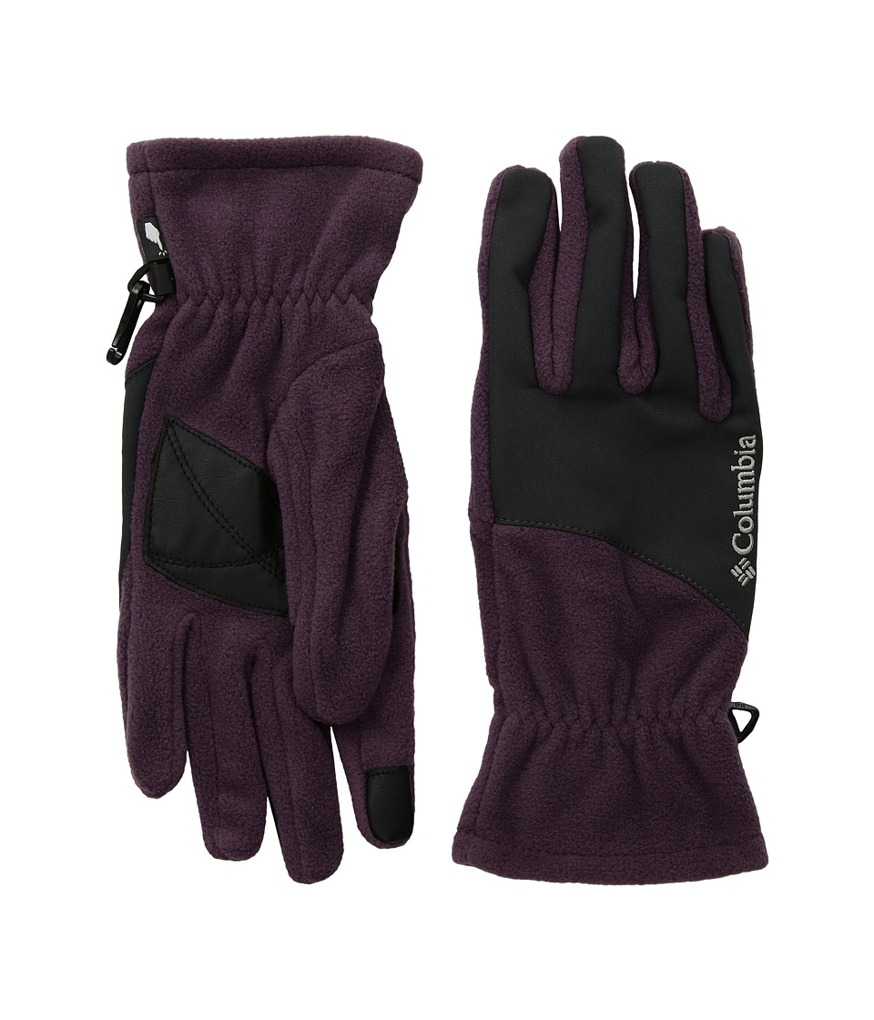 Columbia Mountainside Gloves (Dusty Purple/Shark) Extreme Cold Weather Gloves