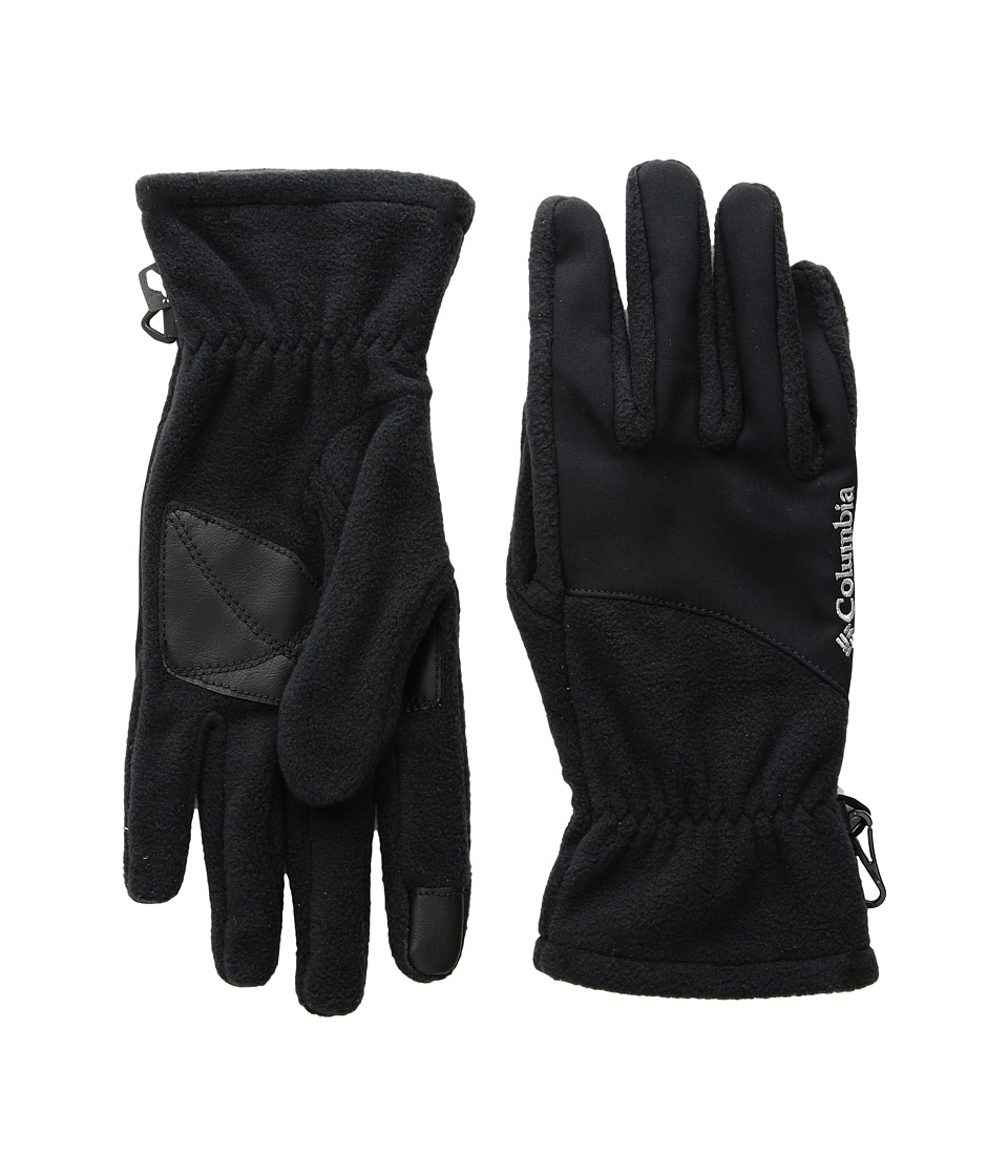 Columbia Mountainside Gloves (Black) Extreme Cold Weather Gloves