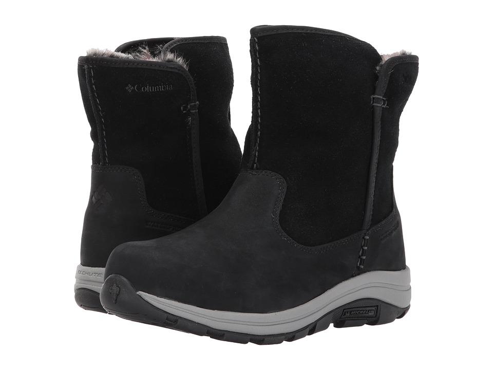 Columbia Bangor Slip Omni-Heat (Black/Stratus) Women's Shoes
