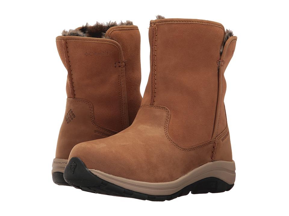 Columbia Bangor Slip Omni-Heat (Elk/Oxford Tan) Women's Shoes