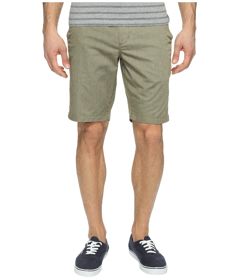 RVCA The Week-End Shorts (Burnt Olive Heather) Men