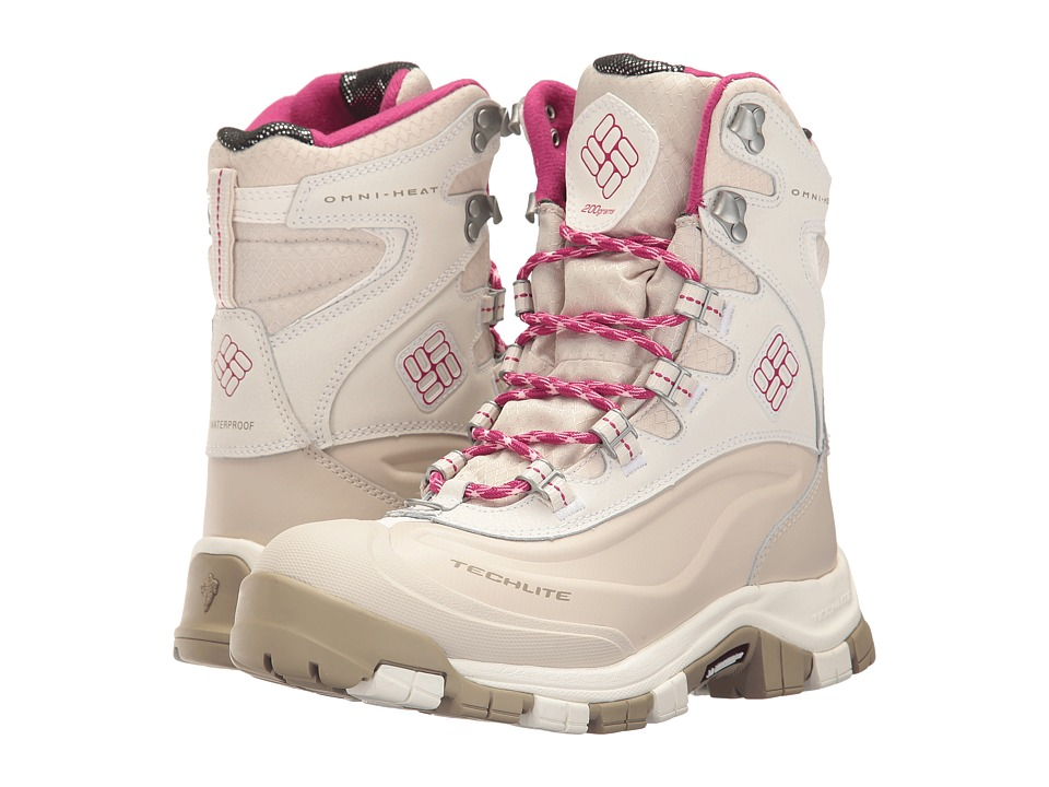 Columbia - Bugaboot Plus Omni-Heat Michelin (Sea Salt/Deep Blush) Women's Shoes