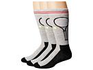 HUE - Tennis Socks with Half Cushion 3-Pack