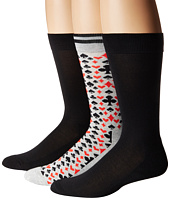 HUE - Lucky 8 Socks with Half Cushion 3-Pack