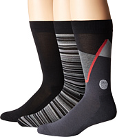 HUE - Golf Socks with Half Cushion 3-Pack