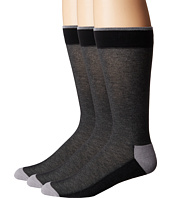 HUE - Pique Socks with Half Cushion 3-Pack
