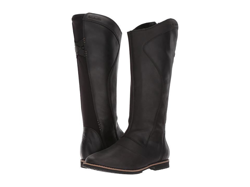 Columbia Twentythird Ave WP Tall Boot (Black/Mud) Women