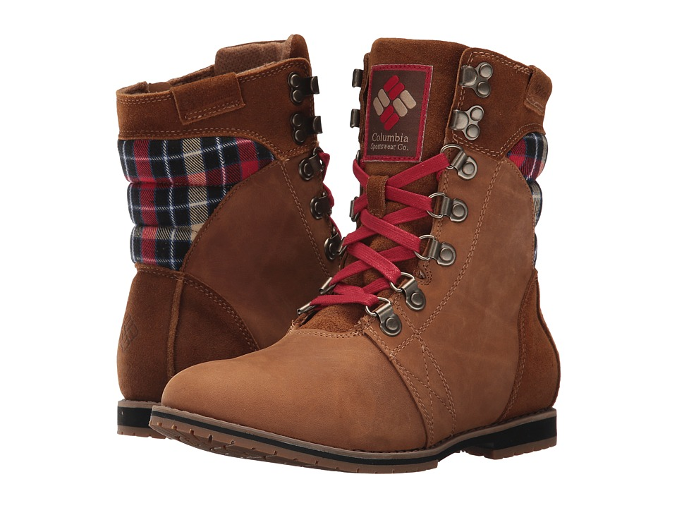 Columbia - Twentythird Ave WP Mid Print (Elk/Rocket) Women's Shoes