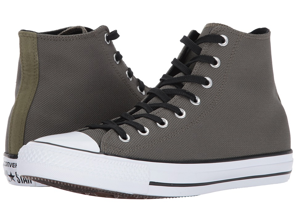 Converse Chuck Taylor All Star Hi (Medium Olive/Black/White) Classic Shoes