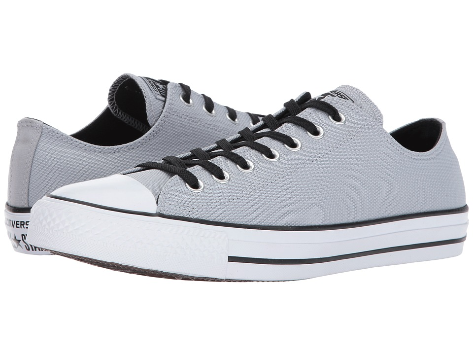 Converse Chuck Taylor All Star Lo Basket Knit (Wolf Grey/Black/White) Athletic Shoes