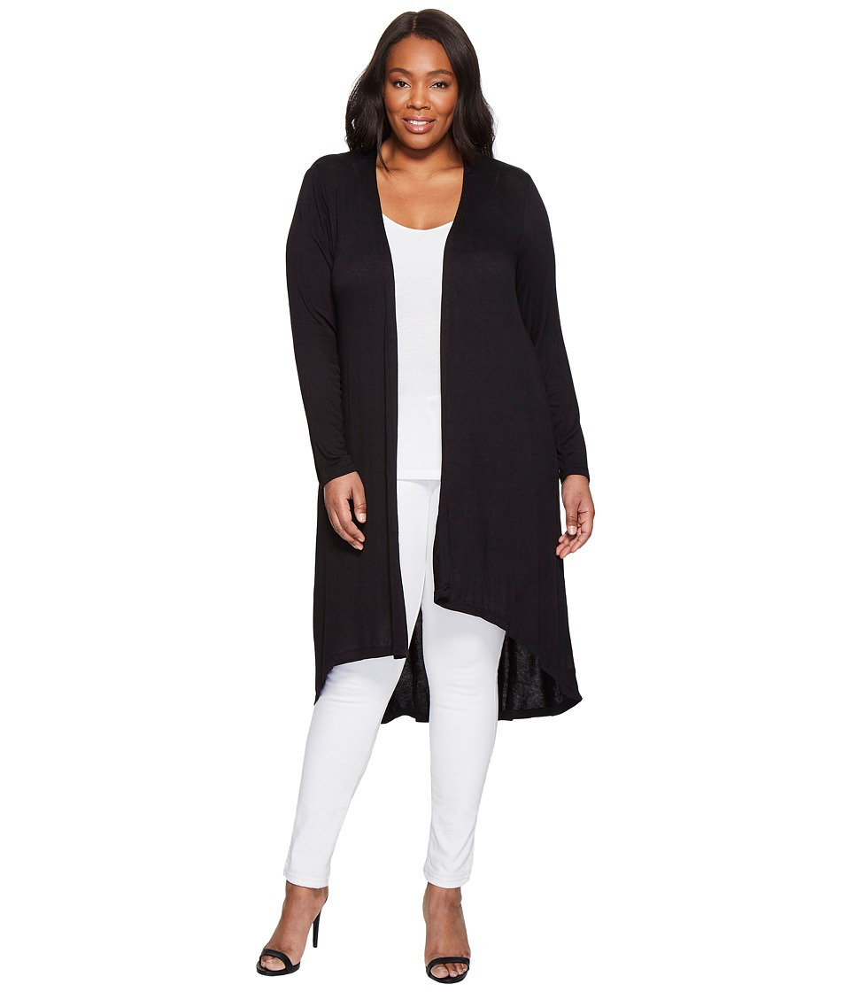 B Collection by Bobeau Curvy B Collection by Bobeau Curvy - Plus Size Knit Duster