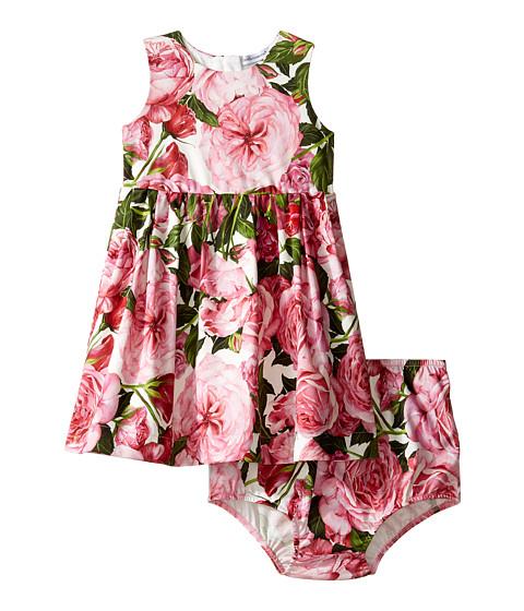 Dolce & Gabbana Kids Pink Rose Dress (Infant)