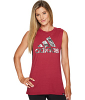 adidas - Badge of Sport Mesh Muscle Tank Top